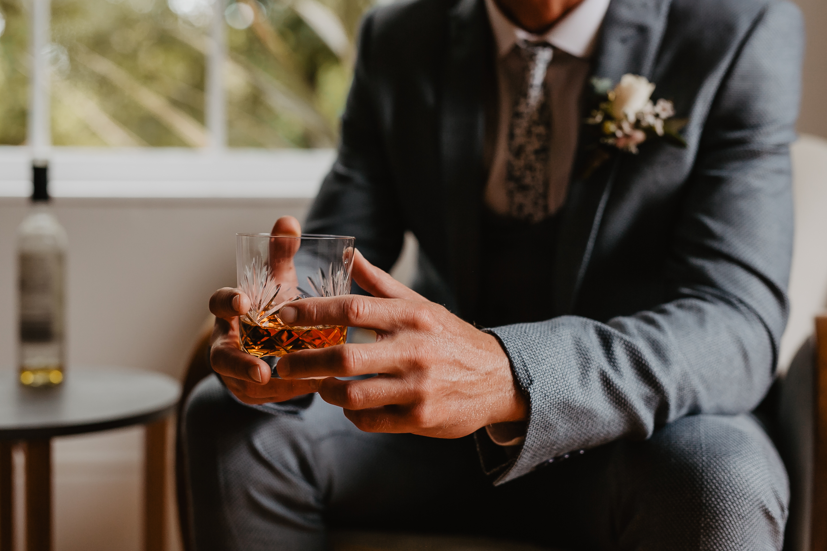 Pre Wedding Whisky For Groom