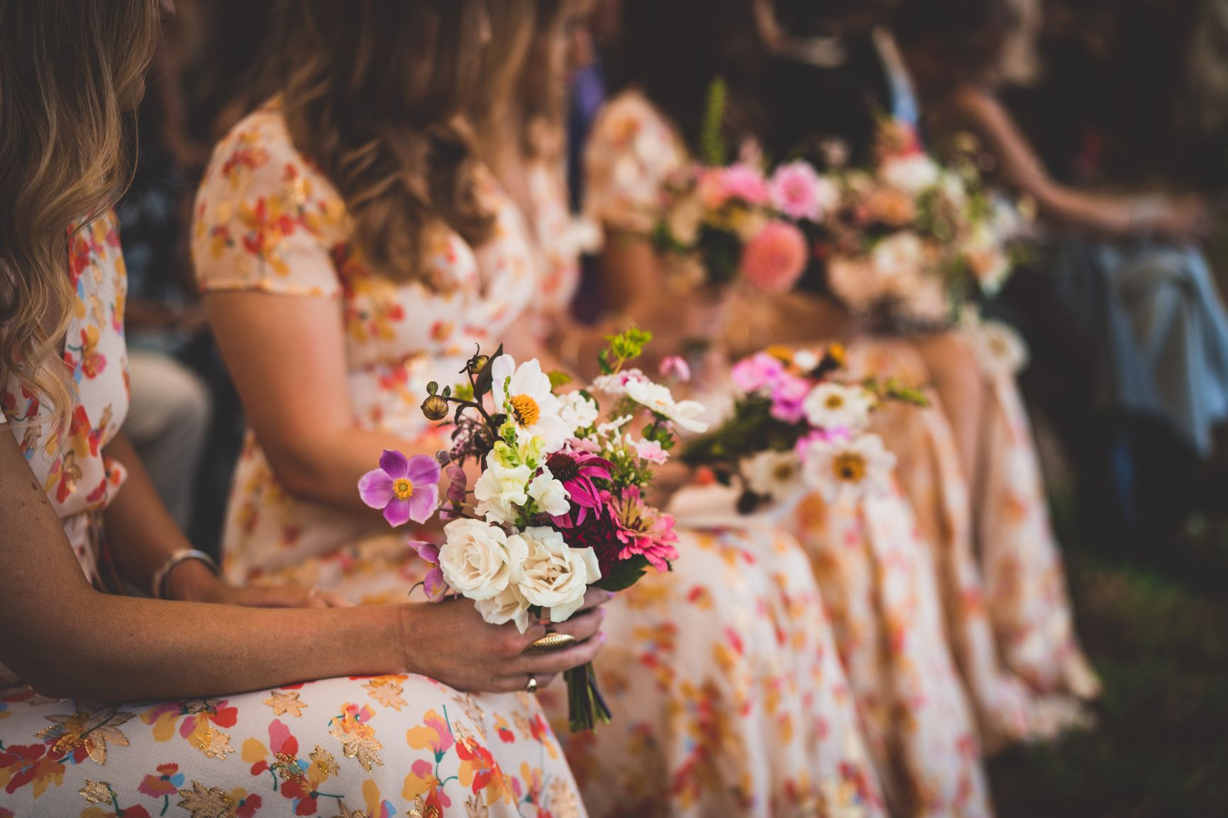Floral Bridesmaids Dresses From Sezane
