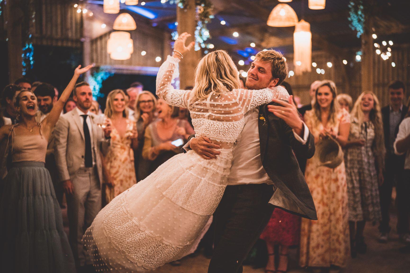 Barn Wedding Devon First Dance