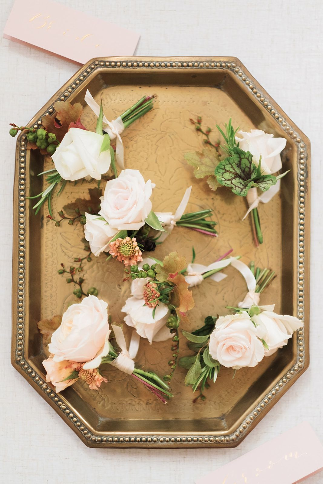 Rose Buttonholes For Wedding